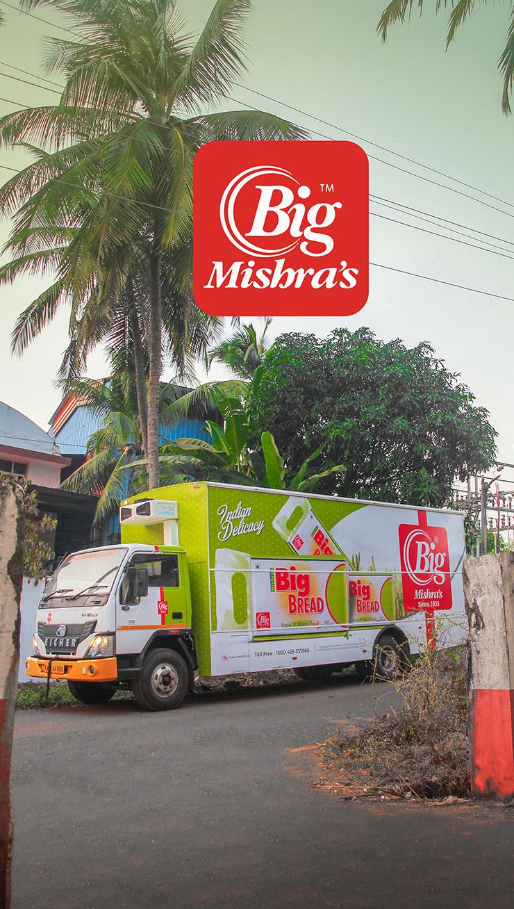 Big Mishra Branding on Eicher XP