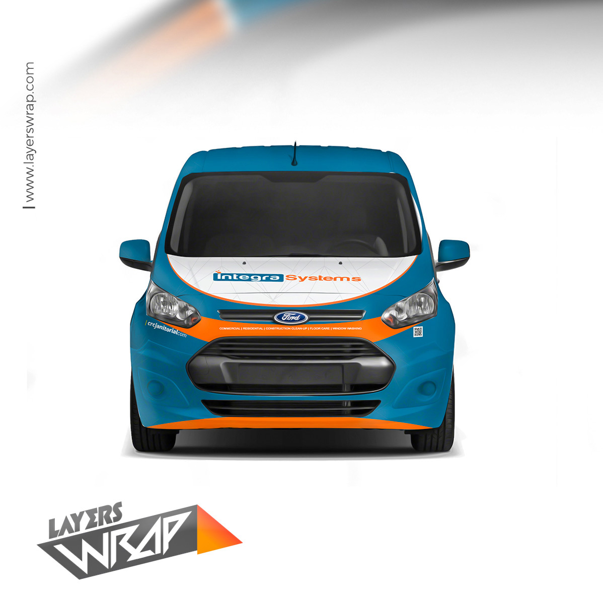 Ford transit connect branding design